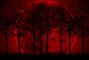 Blood, Red, Moon