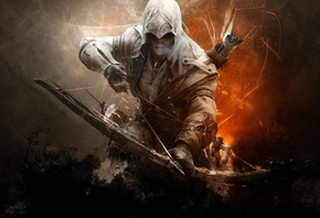 connor kanwey, Assassins creed 3, кредо убийц, коннор кенуэй, assassin