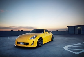 350z, tuning, tuning auto, parking, photo, Auto, city, nissan 350z, cars, nissan, wallpapers auto