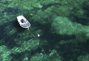 Moored Boat, Dalmatian Coast, Croatia