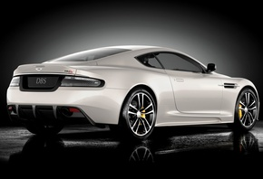 Aston martin, dbs, ultimate, дбс, вид сзади, астон мартин, суперкар