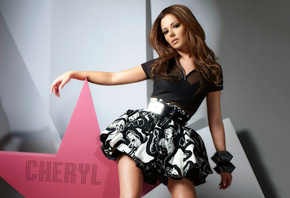 вокалистка, поет, группы, Cheryl cole, сольно, girls aloud