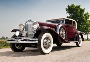 sj 272 2293, Duesenberg, by rollston, victoria, 1931, convertible, дюзенбер ...