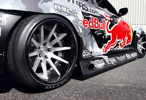 widebody, sportcar, rx-8, red-bull racing, drift, competition, team, spoiler, Mazda, wheels, tuning