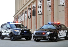 sedan, taurus, Ford, explorer, таурус, форд, police interceptor, эксплорер