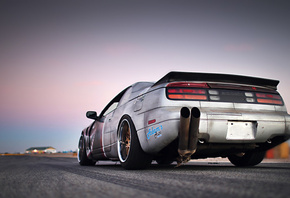 retro, rims, track, tuning, style, drift, exhaust, Nissan, 300zx, z32, sportcar
