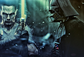 darth vader, star wars, star wars the force unleashed, бой, сражение