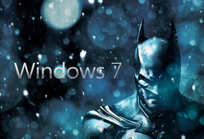 windows, 7, batman, batman arkham city