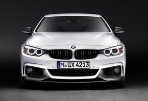 BMW, Performance, 4 Series, M, white, front