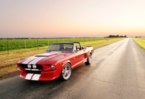 мустанг, gt, форд, shelby, Classic recreations, convertible, mustang, 500cr, ford