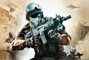 Tom Clancys, Ghost Recon, future soldier, game, игра, солдат, автомат, стре ...