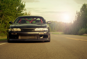 nissan, nissan s14, s14, Auto, обои авто, wallpapers auto, tuning cars, car ...