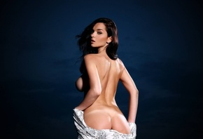 Eugenia Diordiychuk, photo, model, sexy, ass, charming, naked, brunette, se ...