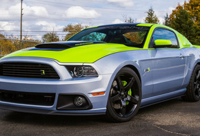 gt, мустанг, roush stage 3, ford mustang, sema форд