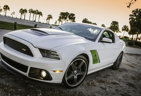 БЕЛЫЙ, ROUSH STAGE 3, FORD MUSTANG
