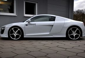 audi r8 carbon limited edition, prior design, carbon, машина, tuning, audi  ...