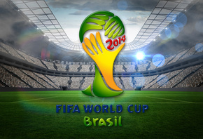 Brazil, FIFA, World Cup, 2014, football, stadium, flag, чемпионат мира, фут ...