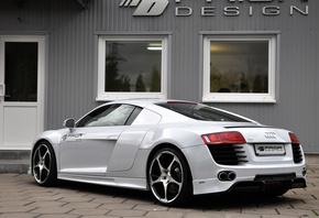 car, машина, audi r8 carbon limited edition, prior design, tuning