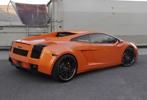 lamborghini, gallardo, lp560-4, orange