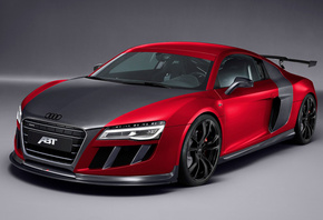 audi, r8, gtr, abt, car, tuning, carbon, ауди, суперкар, автомобиль, спортк ...