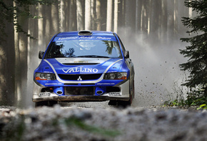 mitsubishi lancer evolution, rally, ралли, 4x4