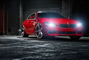 bmw, 6 series, red, m6