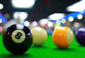 billiard, balls, table, game