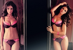 carla ossa, brunette, beautiful, sexy, girl, lingerie