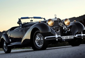 1939, Mercedes-Benz, 540K, Roadster, мерседес, бенц