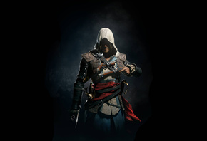 Assassins Creed IV Black Flag, Черный Флаг, Эдвард Кенуэй, ассасин, пират