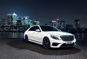 Mercedes-Benz, S 63, AMG, UK-spec, W222