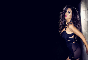 Carissa Rosario, brunette, sexy, body, legs, woman, hair, lips, eyes, dress