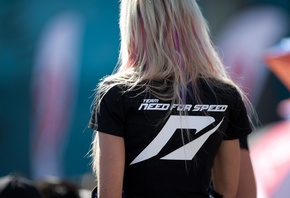 team need for speed, game, ea, girl, девушка, футболка, черная