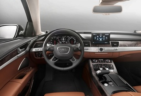 салон, 2015, Audi, A8, L, W12, Exclusive, concept, дизайн, by Poltrona Frau
