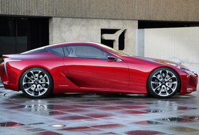 vehicle, lexus, lf, machine, sport, coupe, concept, лексус, машина, концепт ...
