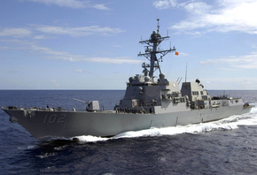 Arleigh Burke, DDG 102, USS Sampson, U.S. NAVY, Ship