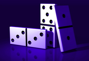 dominoes, game, macro, navy blue color, background