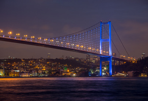 beautiful view, Bosphorus Bridge at night, Istanbul, turkey, Sea of Marmara, city, nature, sky, beautiful view, Bosphorus Bridge at night, Istanbul, turkey, Sea of Marmara, city, nature, sky