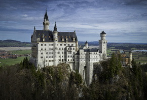 Neuschwanstein Castle, Bavaria, Germany, Neuschwanstein Castle, Bayern, Germany