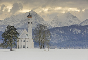 Baroque church, Bayern, Germany