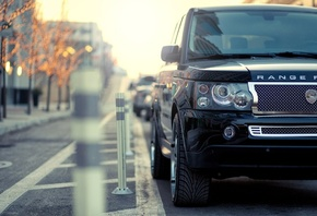 range rover, rr, range rover supercharged, 4x4, street