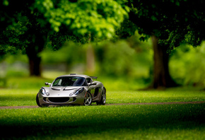 Lotus, Exige, front, silvery
