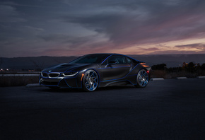 BMW, i8, Aristo, Collection, SS, Customs, Car, Front