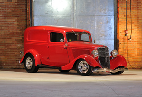 1933, Ford, Sedan, Delivery
