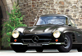 1954, Mercedes-Benz, 300SL, Gullwing