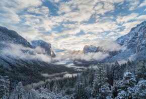Yosemite National Park, California, Sierra Nevada, Национальный парк Йосеми ...