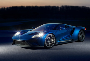 2015, Ford, GT, Concept, форд, суперкар