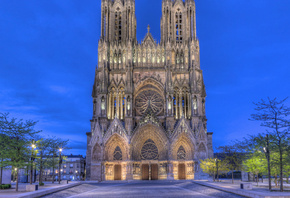 Notre-Dame de Reims, Archbishop of Reims residence, France