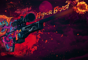 hyper beast, cs go, counter-strike, counter-strike global offensive