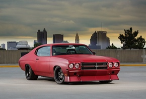 Chevrolet, Chevelle, 1970, on, Forgeline, DS3, Wheels